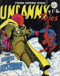 Alan Class & Company's Uncanny Tales Issue # 74