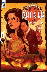 IDW Publishing's Half Past Danger II: Dead to Reichs Issue # 2b