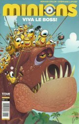 Titan Comics's Minions: Viva Le Boss Issue # 1