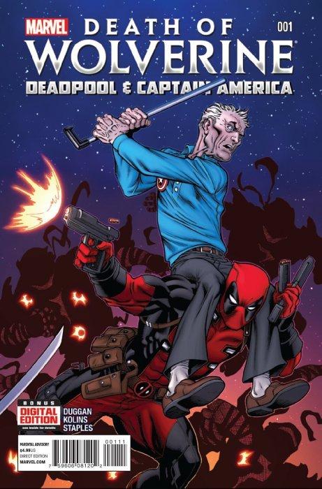 Marvel Comicss Death Of Wolverine Deadpool Captain America Issue 1