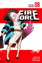 Kodansha Comics's Fire Force Soft Cover # 8