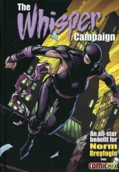 ComicMix's The Whisper Campaign Hard Cover # 1