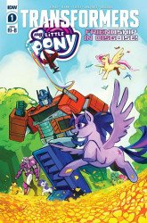 IDW Publishing's My Little Pony / Transformers: Friendship in Disguise Issue # 1c