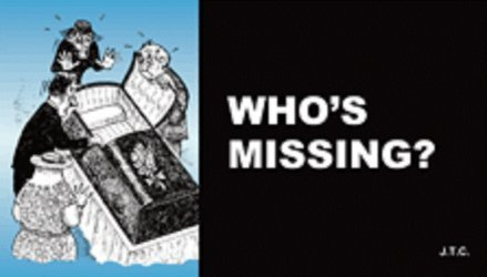 Chick Publications's Who's Missing? Issue nn