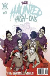 Source Point Press's Twiztid Haunted High-Ons: The Darkness Rises Issue # 5