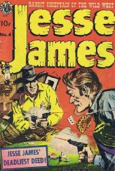 Superior Comics's Jesse James Issue # 4