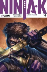 Valiant Entertainment's Ninja-K Issue # 9b