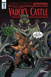 IDW Publishing's Star Wars Adventures: Tales From Vader's Castle Issue # 3b