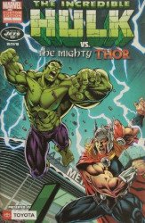 Marvel Comics's Incredible Hulk vs the Mighty Thor: NY Jets / Toyota Custom Edition Issue # 1