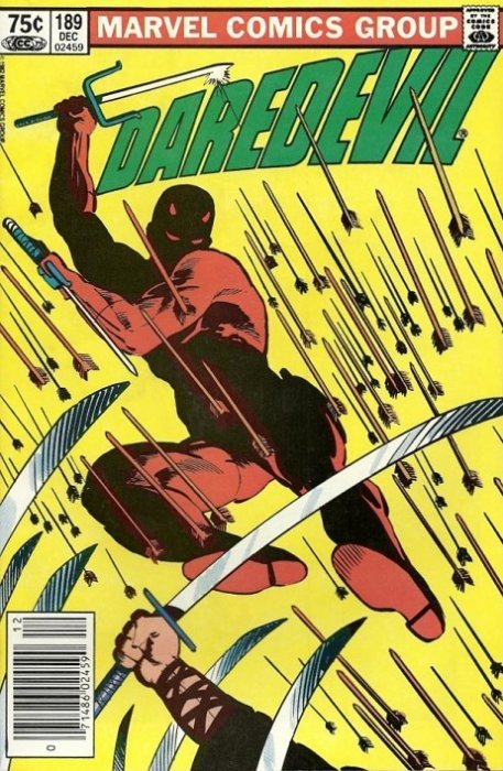 Marvel Comicss Daredevil Issue 189b