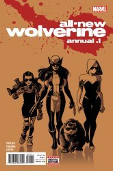 Marvel's All-New Wolverine Annual # 1