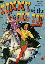 King Features Comics's Tommy of the Big Top Issue # 12