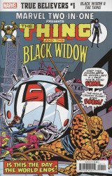 Marvel Comics's True Believers: Black Widow & The Thing Issue # 1