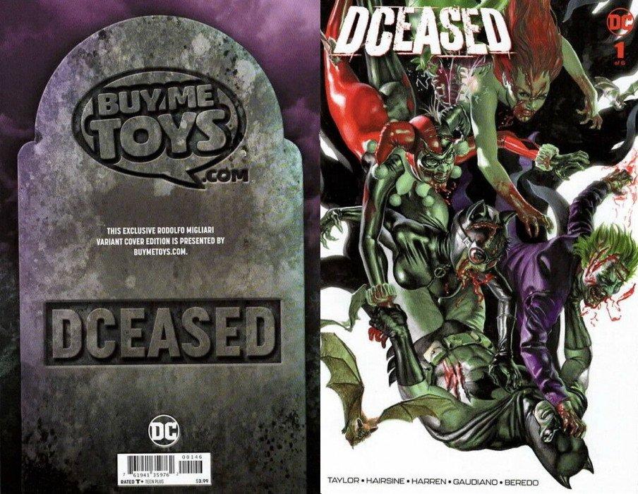 DCEASED #6 Francesco Mattina VARIANT DC comics NM 2019