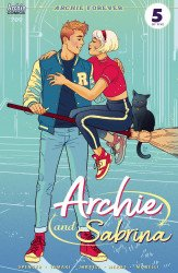 Archie Comics Group's Archie and Sabrina Issue # 709b