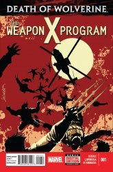Marvel's Death of Wolverine: The Weapon X Program Issue # 1