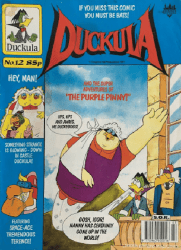 London Editions Magazines's Duckula Issue # 12