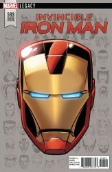 Marvel Comics's The Invincible Iron Man Issue # 593e