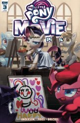 IDW Publishing's My Little Pony: Movie Prequel Issue # 3ri