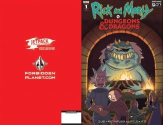 IDW Publishing's Rick and Morty vs Dungeons & Dragons Issue # 1jetpack-a