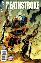 DC Comics's Deathstroke Issue # 17b