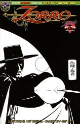 American Mythology's Zorro: Swords of Hell Issue # 4c