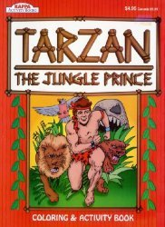 Kappa Books's Tarzan: The Jungle Prince Soft Cover red