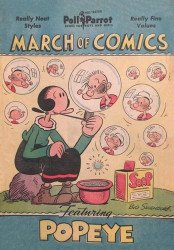 Western Printing Co.'s March of Comics Issue # 37e