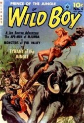 Ziff-Davis Publishing's Wild Boy of the Congo Issue # 4