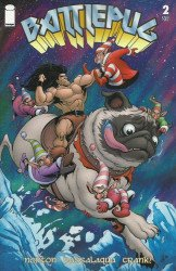 Image Comics's Battlepug Issue # 2