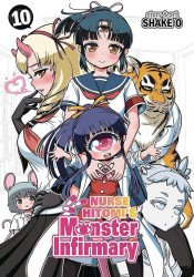 Seven Seas Entertainment's Nurse Hitomi's Monster Infirmary Soft Cover # 10