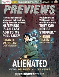 Diamond Comics Distribution's Previews Issue # 375