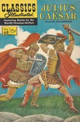 Gilberton Publications's Classics Illustrated #68: Julius Caesar Issue # 6