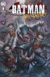 DC Comics's Batman Who Laughs Issue # 1red spot