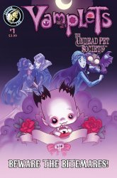 Action Lab Entertainment's Vamplets: The Undead Pet Society - Beware the Bitmares Issue # 1b