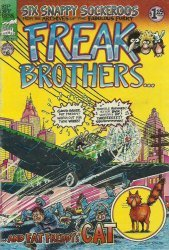 Rip Off Press's The Fabulous Furry Freak Brothers Issue # 6