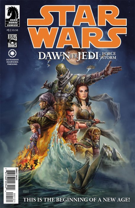 Star Wars: Dawn of the Jedi - Force Storm Issue # 2 (Dark