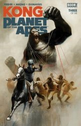 BOOM! Studios's Kong: On the Planet of the Apes Issue # 3
