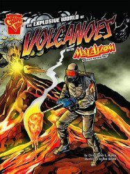 Capstone Press's Graphic Library: Explosive World of Volcanoes Soft Cover # 1