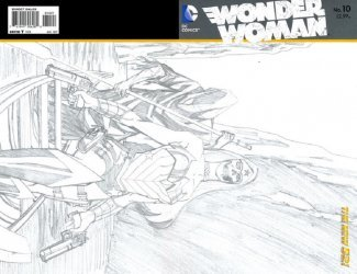 DC Comics's Wonder Woman Issue # 10b