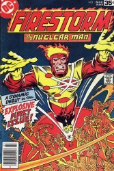 DC Comics's Firestorm, the Nuclear Man Issue # 1
