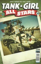 Titan Comics's Tank Girl: All Stars Issue # 1d