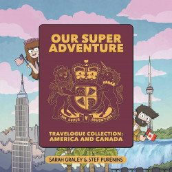 Oni Press's Our Super Adventure Travelogue Collection America And Canada Box Set Special # 1