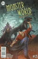 American Gothic Press's Monster World: The Golden Age Issue # 3