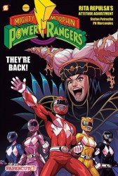 Papercutz's Mighty Morphin Power Rangers Hard Cover # 1