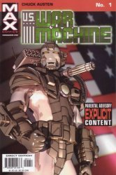Max Comics's U.S. War Machine Issue # 1
