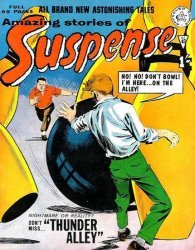 Alan Class & Company's Amazing Stories of Suspense Issue # 43
