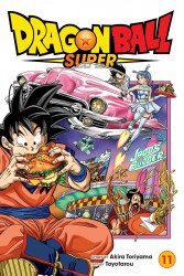 Shonen Jump Manga's Dragon Ball Super Soft Cover # 11