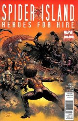 Marvel Comics's Spider-Island: Heroes for Hire Issue # 1b