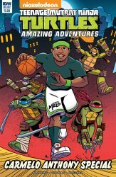 IDW Publishing's Teenage Mutant Ninja Turtles: Amazing Adventures: Carmelo Anthony Special  Issue # 1